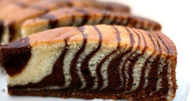 Cake zebra au multicuiseur